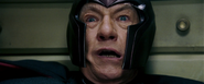 Magneto witnessing Charles' death (The Last Stand)