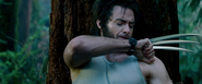 Wolverine - Pulling Out the Bone Projectile