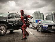 Deadpool in action
