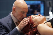 Jean Grey and Charles Xavier
