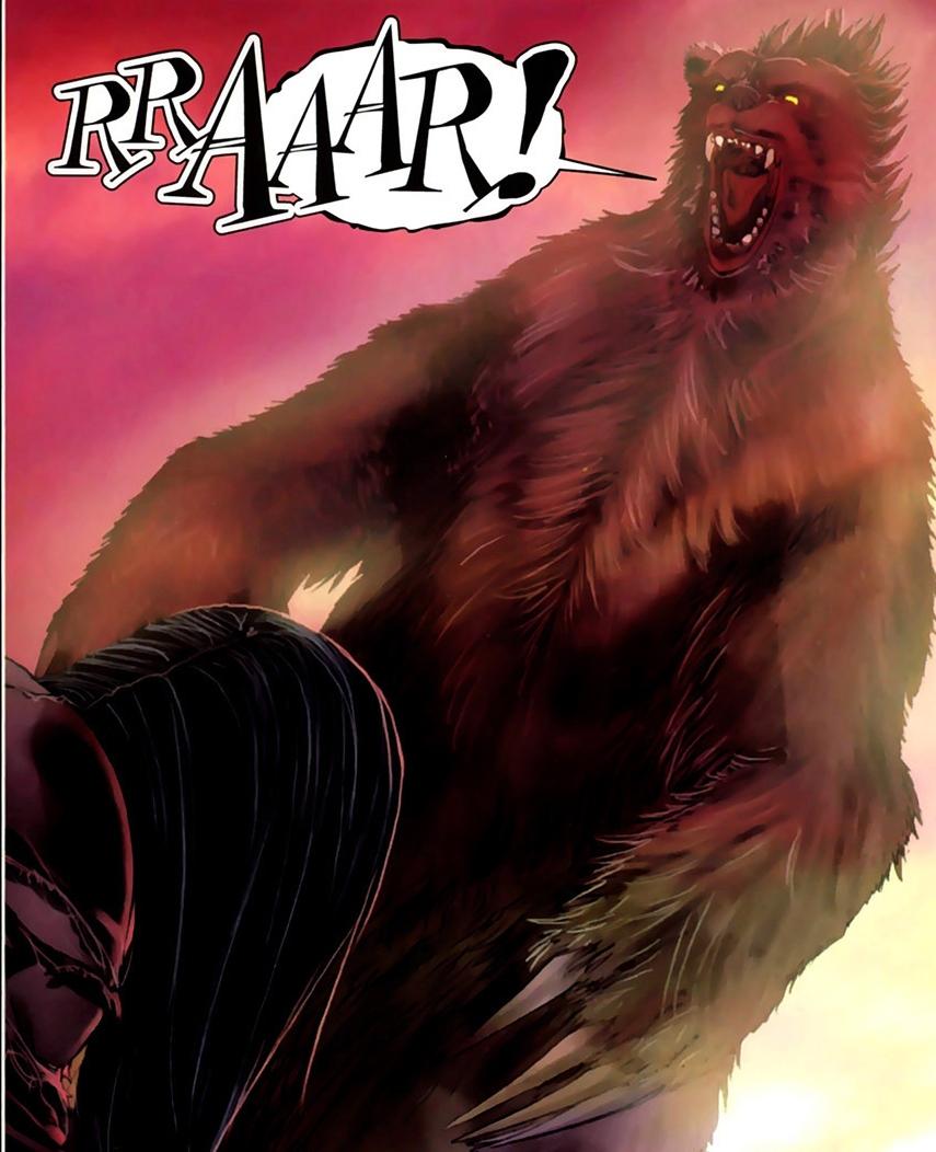 Demon Bear (Urso Místico por aqui)