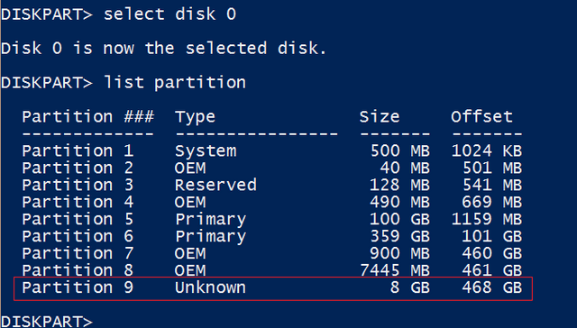 File:1-Initial Diskpart Output.png