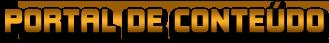 Portal de Conteúdo-header