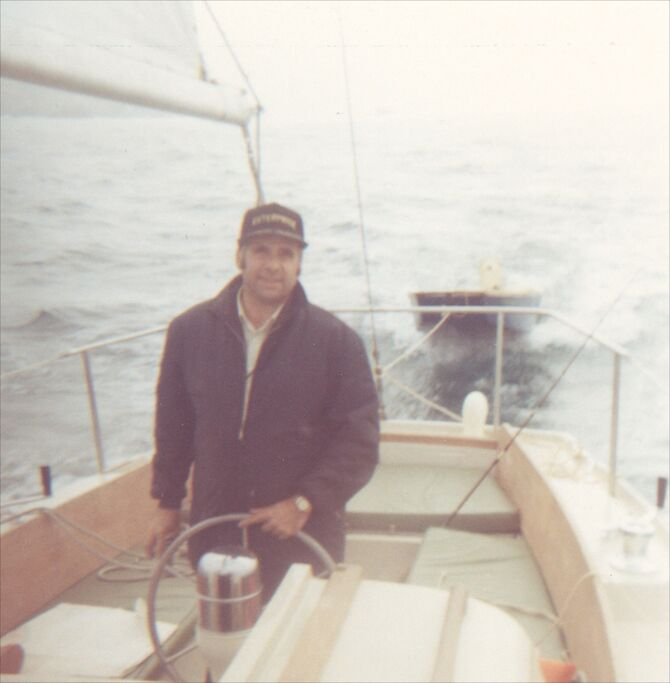 GR On His Boat