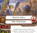 Sabine Wren (TIE Fighter)