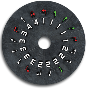 Attack Shuttle dial