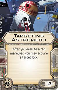 Targeting-astromech