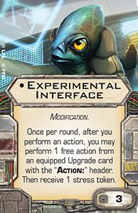 Experimental-interface