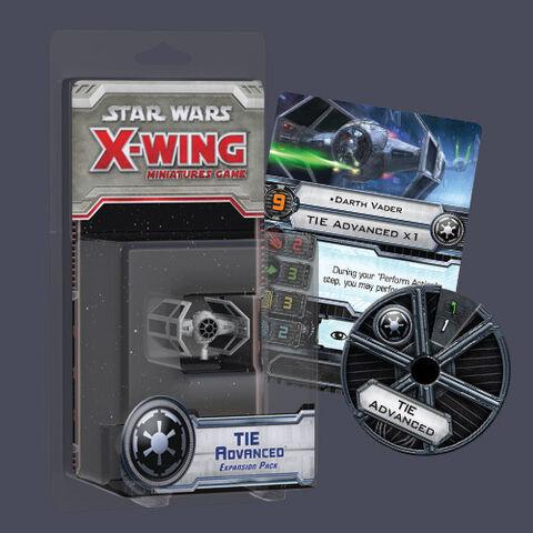 File:X Wing Miniatures Tie Advanced.jpg