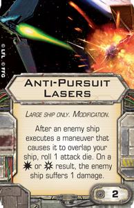 Anti-pursuit-lasers