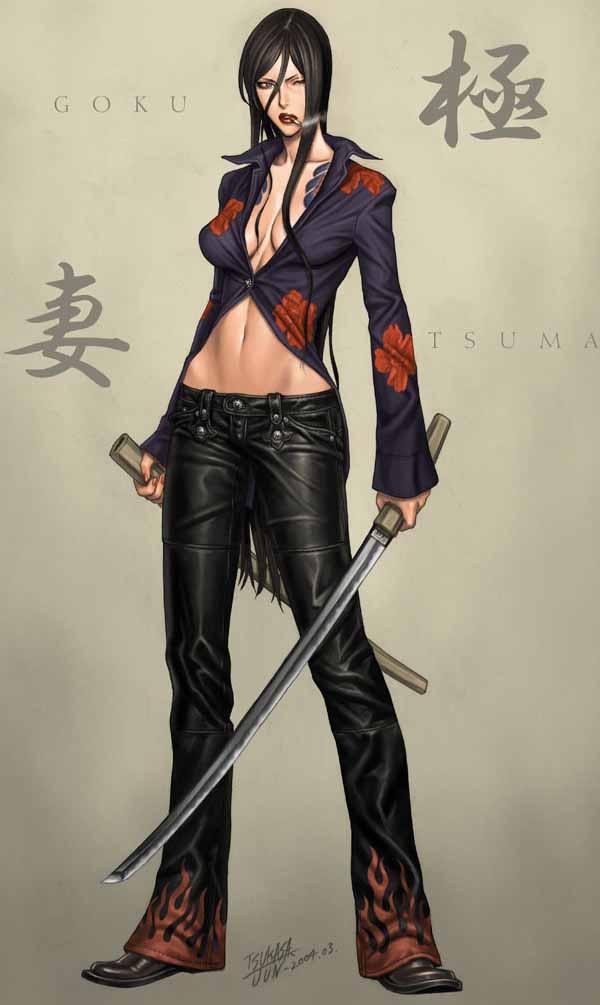 Psylocke - Yakuza Concept by Jun Tsukasa
