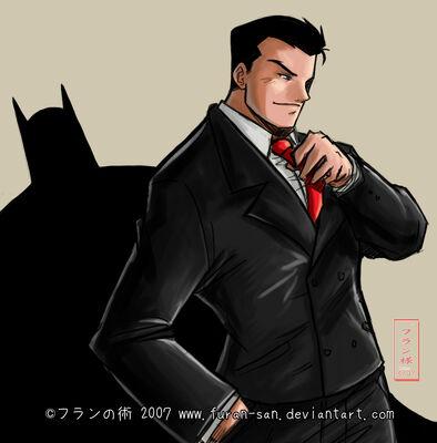 Bruce wayne by furan san