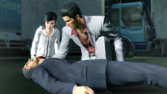 Fuma dies before Kiryu state him to his true father