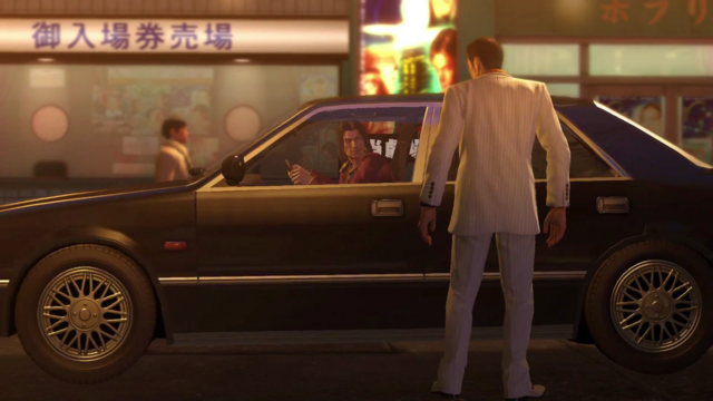 File:Nishiki shouts Kiryu to get inside his car for his protection from Dojima Family.png
