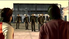 Kida and Akiyama approaches by Shibata men