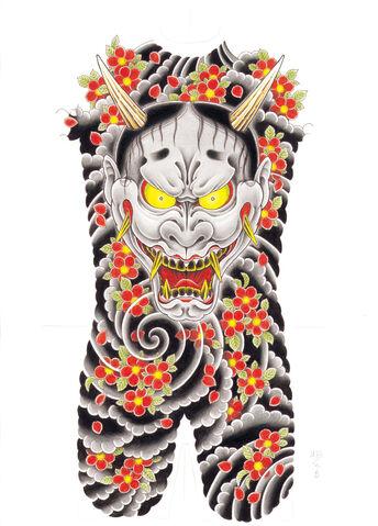 File:Goro Majima back tattoo.jpg