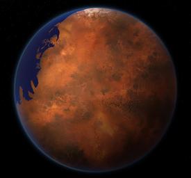 Mars in 2199