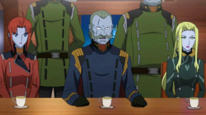 Garmillas Rebels Aboard Yamato