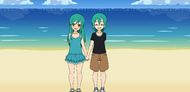 Kiri and Chrys