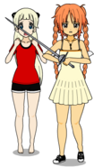 Amashi and Takumi