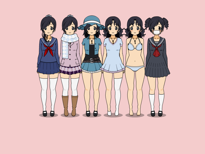 Image - Rie outfits.jpg | Yandere Simulator Fanon Wikia | FANDOM powered by Wikia