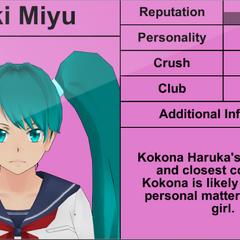 Saki's 5th profile.
