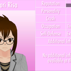 Shiori's 9th profile. June 3rd, 2016 (text outline fixed).