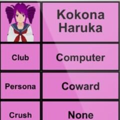 Kokona's 2nd profile.