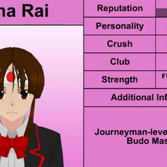 Mina的第五版個人資料 [17/02/2016]