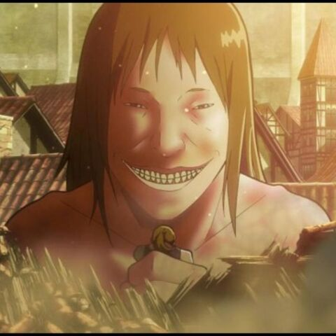 A titan from the <i>Attack on Titan</i> anime.