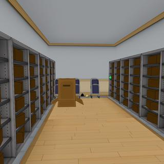 一樓右邊的儲藏室