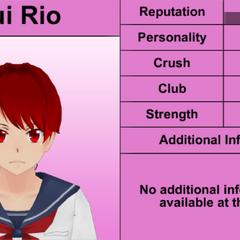 Yui's 6th profile. February 1st, 2016.