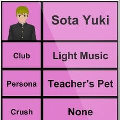 Sota's 3rd profile.