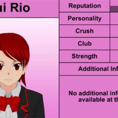 Oitavo perfil de Yui.