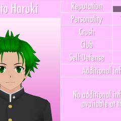 Nono perfil de Hayato.