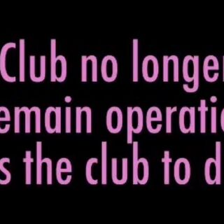 The club disbanding after there are less than five members.