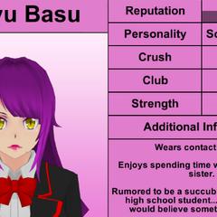Sakyu's 4th profile. February 17th, 2016.