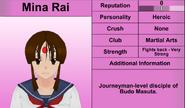 Mina Rai Profile Feb 15th