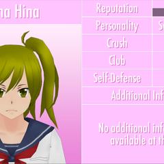 Yuna's 9th profile. June 1st, 2016.
