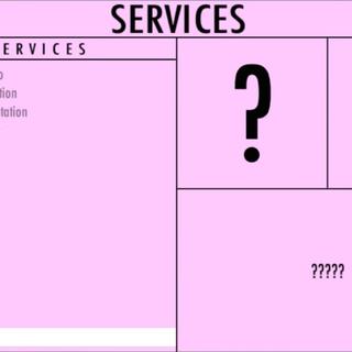 Um serviço desconhecido