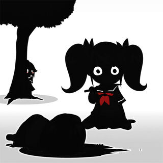 Silhouette sprite art for an unknown challenge.