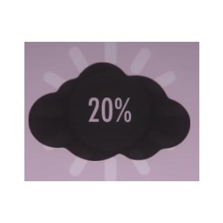 Atmosphere at 20%.