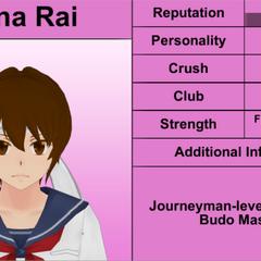 Mina的第一版個人資料
