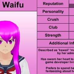 Mai's 4th profile. February 8th, 2016.