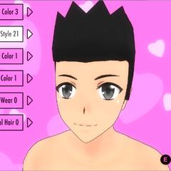 Hair Style #21 (Spiky)