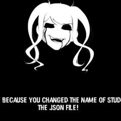 嘗試通過JSON文件夾將Osana添加到遊戲中