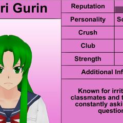 Midori's 7th profile. February 8th, 2016.