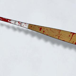 沾滿血的棒球棍