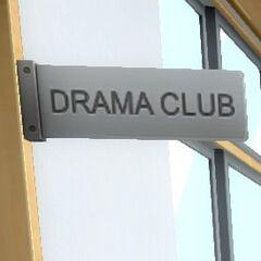 Drama Club Sign. July 12th, 2016.