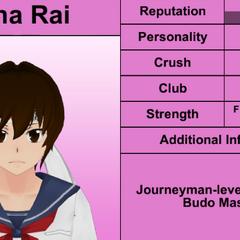 Mina的第三版個人資料 [08/02/2016]